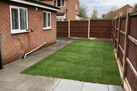 Garden transformation in Biggleswade Beds.